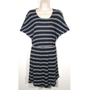 Splendid Dresses - SPLENDID Women Blouson Striped Knit Dress 1012E1